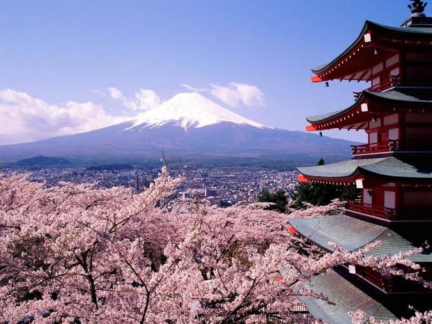 Mont-Fuji japon