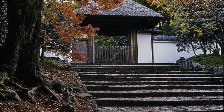 anrakuji in kyoto japan