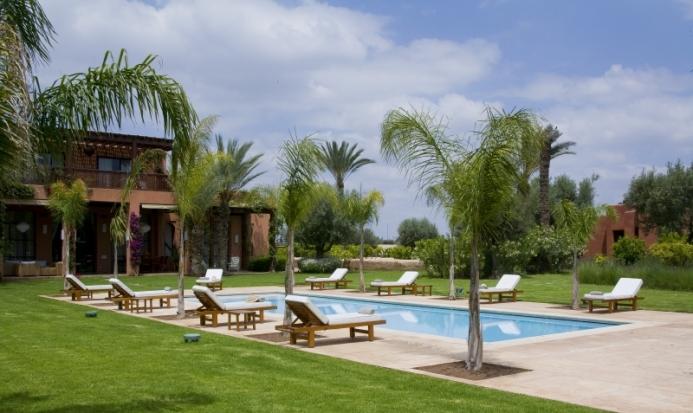 Massage dans une villa marrakech le blog viaprestige - Location spa a domicile ...